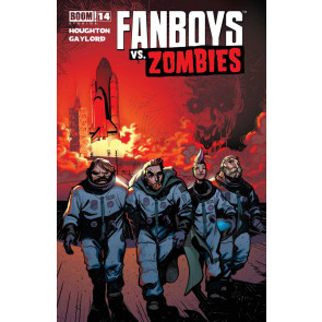 FANBOYS VS ZOMBIES #14 VF/NM ARMAGEDDON COVER BOOM!