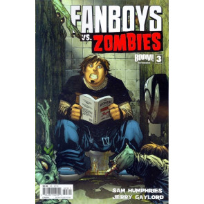 FANBOYS VS ZOMBIES #3 VF/NM COVER A BOOM!