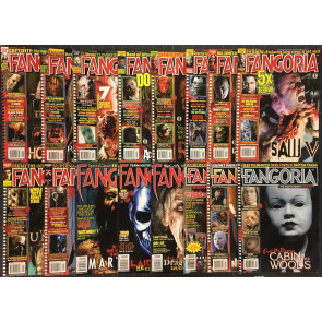Fangoria #264 266 270 271 272 273 277-283 307 310 312 VF (8.0) 16 issue lot