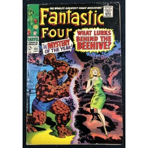 Fantastic Four (1961) #66 VG+ (4.5) part one of Warlock (Him) origin