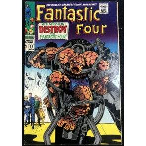 Fantastic Four (1961) #68 FN/VF (7.0)