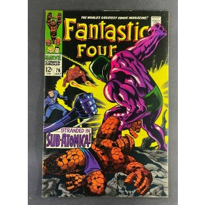 Fantastic Four (1961) #76 VF- (7.5) 1st Appearance Indestructible One Jack Kirby