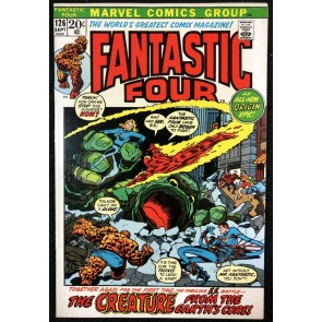 Fantastic Four (1961) #126 FN (6.0) #1 picture frame over swipe