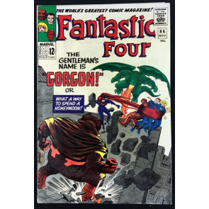 Fantastic Four (1961) #44 GD/VG (3.0) 1st app Gorgon of the Inhumans