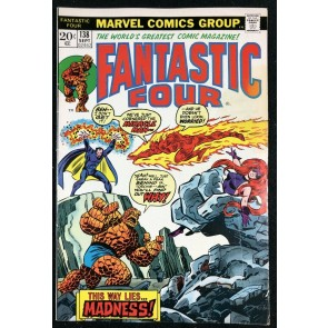 Fantastic Four (1961) #138 FN (6.0) Return of Miracle Man