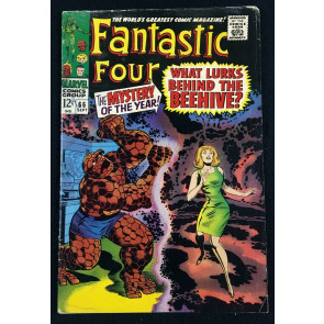 Fantastic Four (1961) #66 VG (4.0) part 1 of 2 Him (Warlock) origin cont. in #67