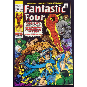 Fantastic Four (1961) #100 FN (6.0) Stan Lee Jack Kirby