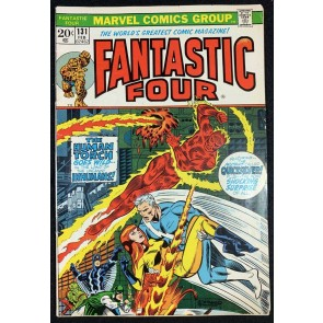Fantastic Four (1961) #131 VG/FN (5.0) Inhumans Quick Silver Steranko Cover