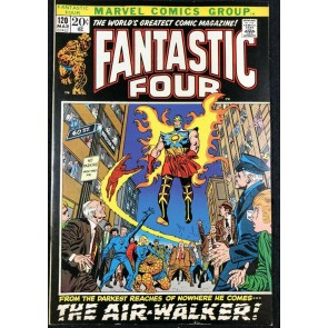 Fantastic Four (1961) #120 VF+ (8.5) 1st app Gabriel Air Walker Galactus Herald