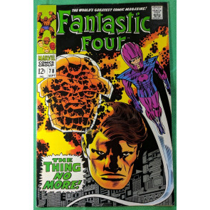 Fantastic Four (1961) #78 FN/VF (7.0) Wizard app