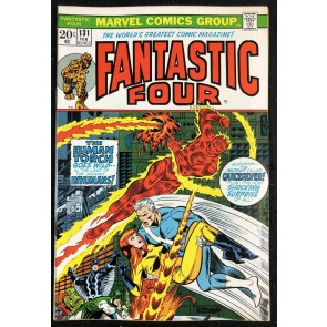 Fantastic Four (1961) #131 VF (8.0) Inhumans Quick Silver Steranko Cover