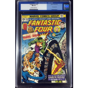 Fantastic Four (1961) #167 CGC 9.4 Hulk battle cover (0044548014)