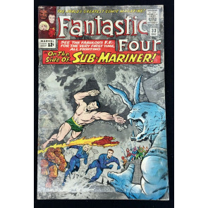 Fantastic Four (1961) #33 FR (1.0) 1st app Attuma reader copy