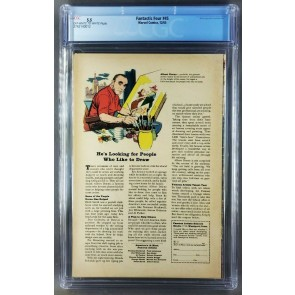 Fantastic Four (1965) #45 CGC 5.5 OWW 1st App Inhumans Tongie Farm collection |