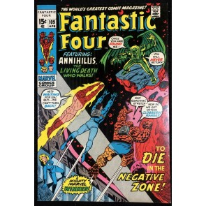 Fantastic Four (1961) #109 VF (8.0) Vs Annihilus