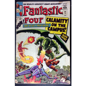 Fantastic Four (1961) #35 GD/VG (3.0) 1st app Dragon Man Stan Lee Jack Kirby