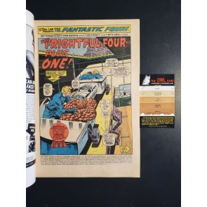 Fantastic Four 129 (1972) FN (6.0) 1st App. Thundra Picture Frame Cover |