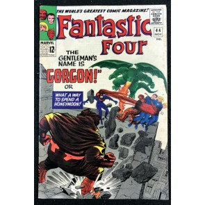 Fantastic Four (1961) #44 FN+ (6.5) 1st app Gorgon of the Inhumans