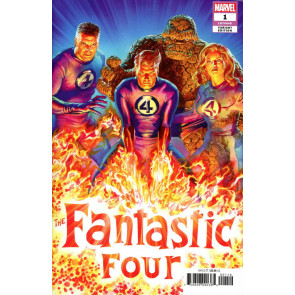 Fantastic Four (2018) #1 VF/NM-NM Alex Ross 1:50 Variant Cover