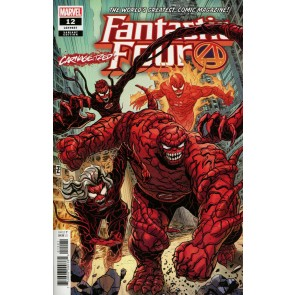 Fantastic Four (2018) #12 (#657) VF/NM Carnage-ized Variant Cover