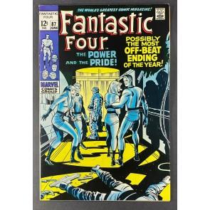 Fantastic Four (1961) #87 VF (8.0)Dr. Doom Appearance Jack Kirby Art