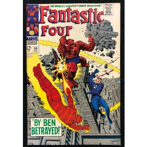 Fantastic Four (1961) #69 VF (8.0) Jack Kirby Cover & Art