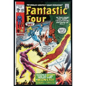 Fantastic Four (1961) #105 VF+ (8.5)