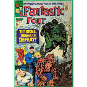 Fantastic Four (1961) 58 VF- (7.5) Dr Doom steals Silver Surfers powers part 2/4