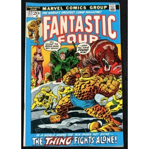 Fantastic Four (1961) #127 FN (6.0) vs Mole Man