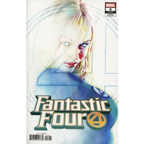 Fantastic Four (2018) #8 (#653) VF/NM Sienkiewicz Variant (Invisible Woman)