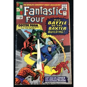 Fantastic Four (1961) #40 FN- (5.5) Doctor Doom App Early Daredevil Cross Over