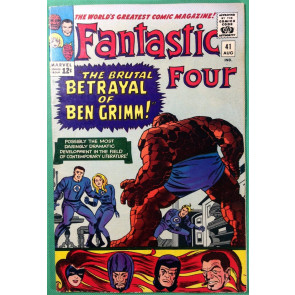Fantastic Four (1961) 41 VF- (7.5) Frightful Four