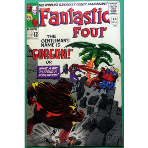 Fantastic Four (1961) #44 VG+ (4.5)  1st app Gorgon from Inhumans