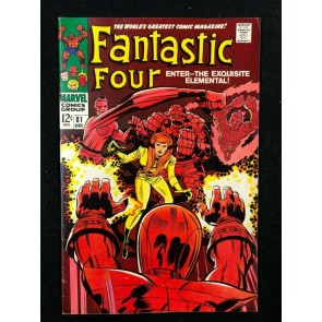 Fantastic Four (1961) #81 FN/VF (7.0) Jack Kirby Cover & Art