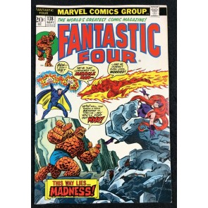 Fantastic Four (1961) #138 FN+ (6.5) Return of Miracle Man