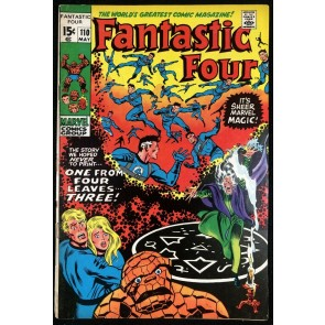Fantastic Four (1961) #110 VG (4.0) Annihilus Agatha Harkness App