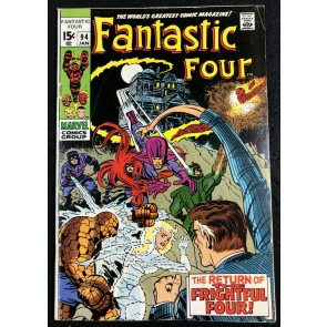 Fantastic Four (1961) #94 VG/FN (5.0) 1st Appearance Agatha Harkness