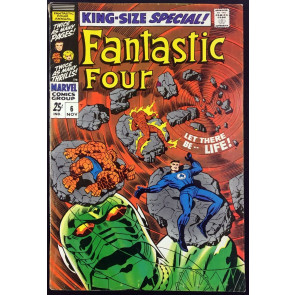 Fantastic Four Annual (1968) #6 FN- (5.5) 1st app Franklin Richards & Annihilus