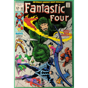 Fantastic Four (1961) #83 VF+ (8.5) Inhumans cover and appearance