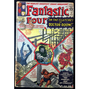 Fantastic Four (1961) #17 FR (1.0) Doctor Doom cover & app