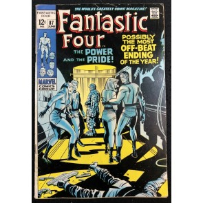 Fantastic Four (1961) #87 VG/FN (5.0) Doctor Doom app