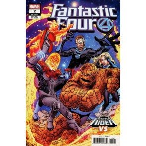 Fantastic Four (2018) #2 (#647) VF/NM Cosmic Ghost Rider Vs. Variant Cover