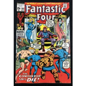 Fantastic Four (1961) #104 FN- (5.5) Sub-Mariner & Magneto Cover & Story