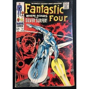 Fantastic Four (1961) #72 VG/FN (5.0) Silver Surfer Cover and Story