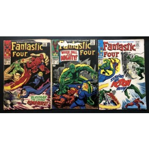 Fantastic Four (1961) #63 70 71 77 78 80 81 102 Reader lot 8 comics
