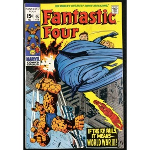 Fantastic Four (1961) #95 VF (8.0) 1st app Monocle