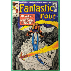 Fantastic Four (1961) #47 VG (4.0) 3rd app Inhumans