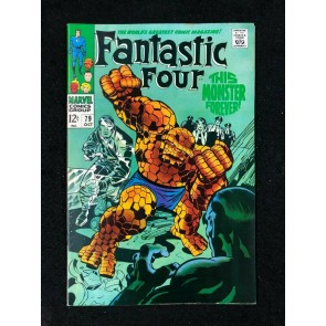 Fantastic Four (1961) #79 FN/VF (7.0) 1st Android Man Jack Kirby Cover & Art