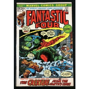 Fantastic Four (1961) #126 VG+ (4.5) #1 picture frame over swipe
