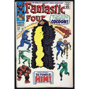 Fantastic Four Annual (1961) #67 FN- (5.5) 1st app Him Adam Warlock